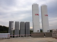 LNG 저장시설 이미지
